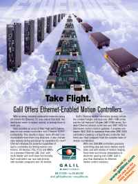 Galil Motion Control - ethernet flight