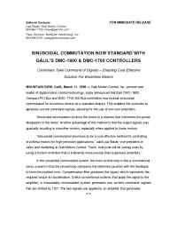 Galil Motion Control - pr 3 11 98