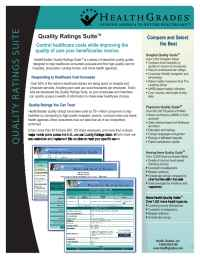 Health Grades - Quality Ratings Suite 111506