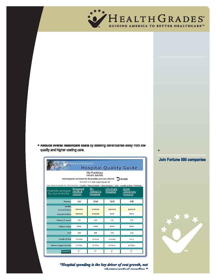 Health Grades - Hospitals Quality Guide
