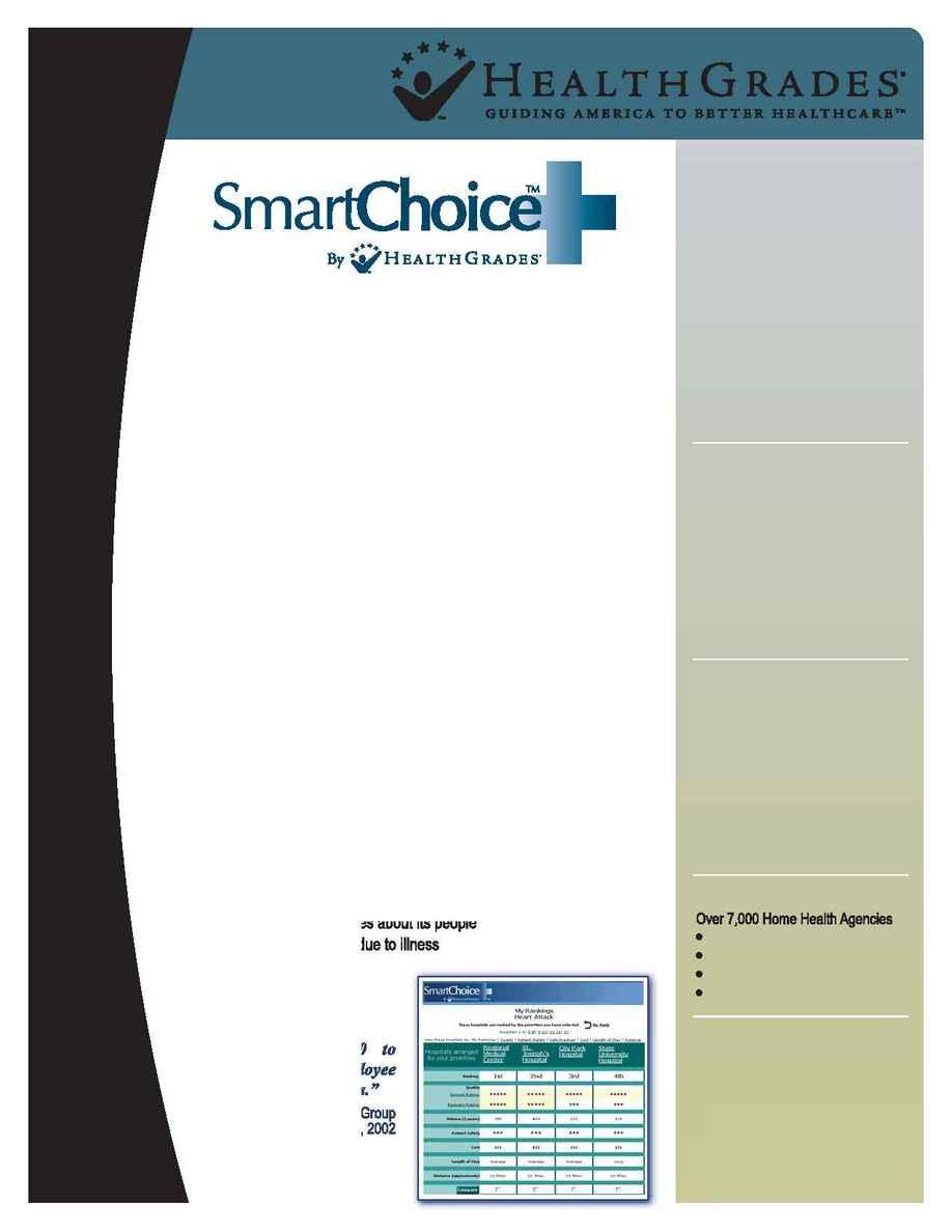 Health Grades - Smart Choice