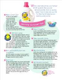 BabyCenter - laundry Tips
