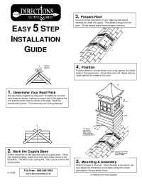 Directions for Home and Garden - 5Step