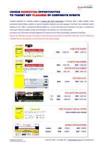 EventClicks, Ltd. - List Of Opportunities