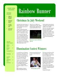 Rainbow Woods Campgrounds - 2007 07 16