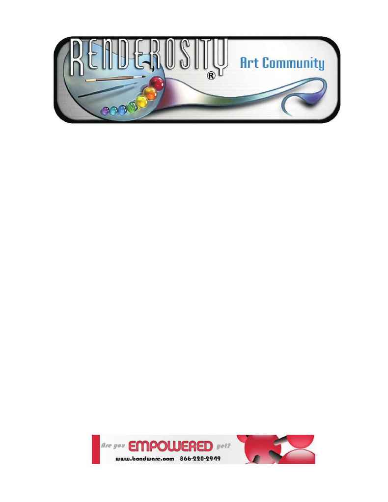 Renderosity.com - Renderosity Media Kit 2006