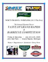 WBCT Grand Rapids - bbqentry