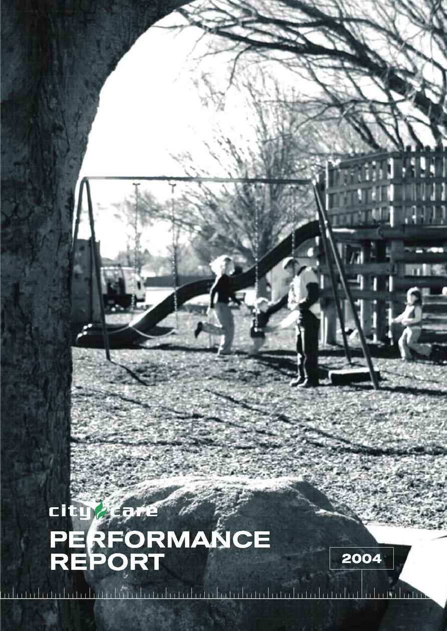 City Care - Performance Report 2004