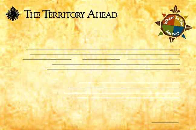 The Territory Ahead - Contest Entry Form