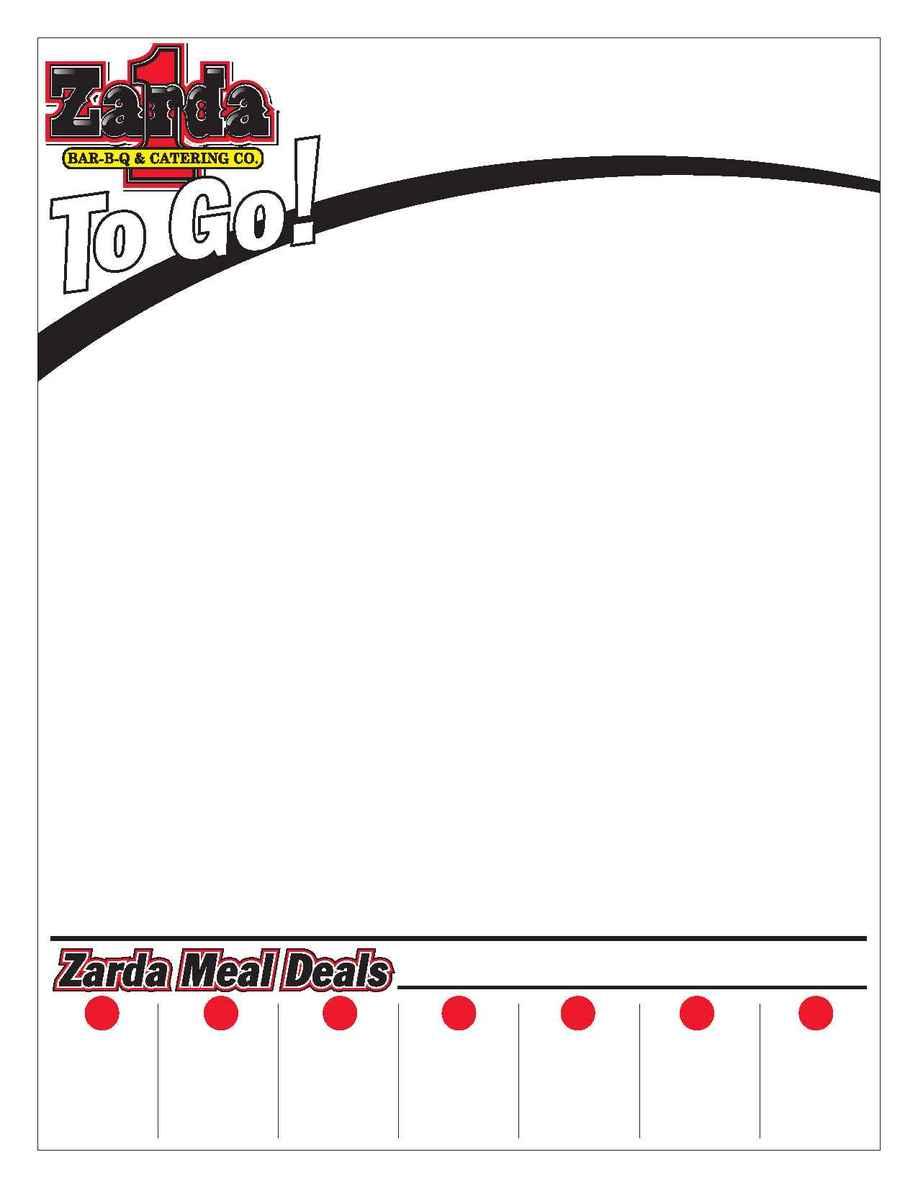 Zarda Bar-B-Que & Catering Co. - zardamenu