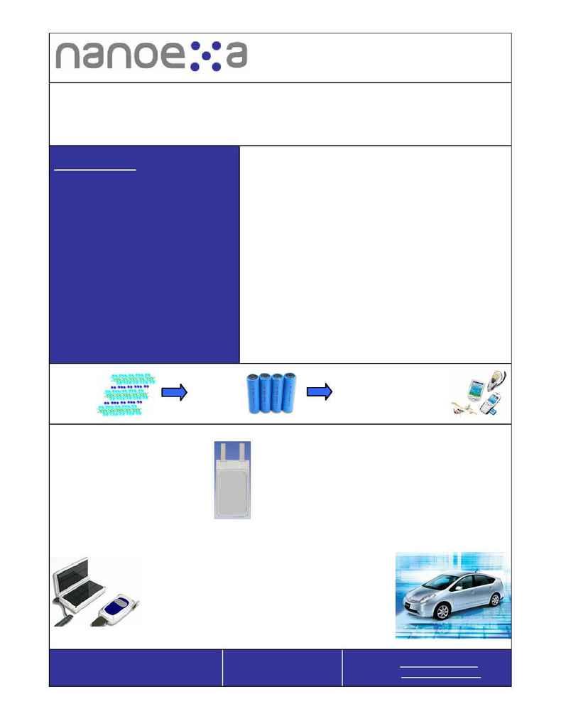 Nanoexa - Media Kit Sept Oct