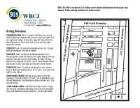 WRCJ Detroit - stationmap