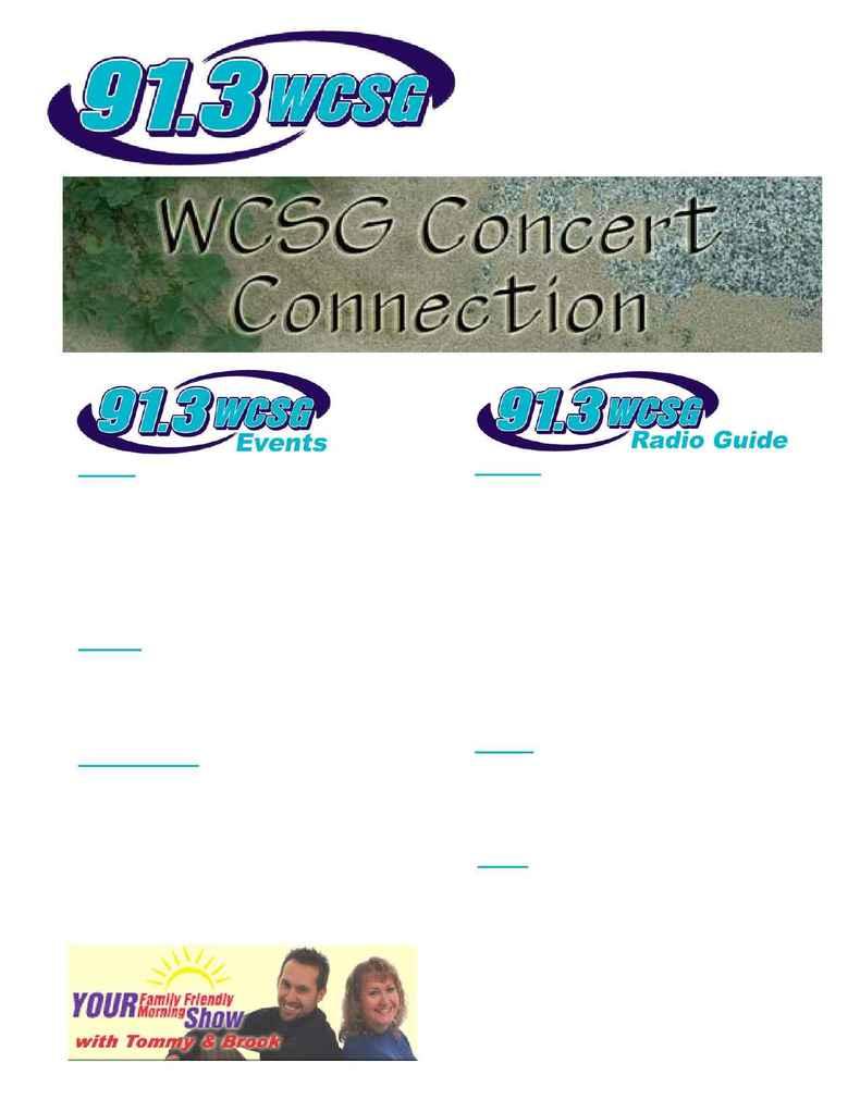 WCSG Grand Rapids - wcsg radio guide