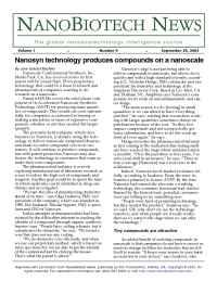 Nanosyn - nanobiothechnews