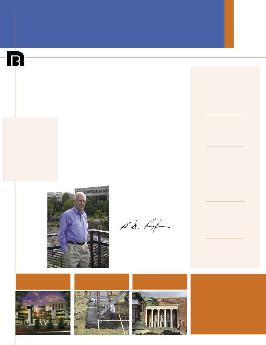 Rodgers Builders - Rodgers Report Spring 06