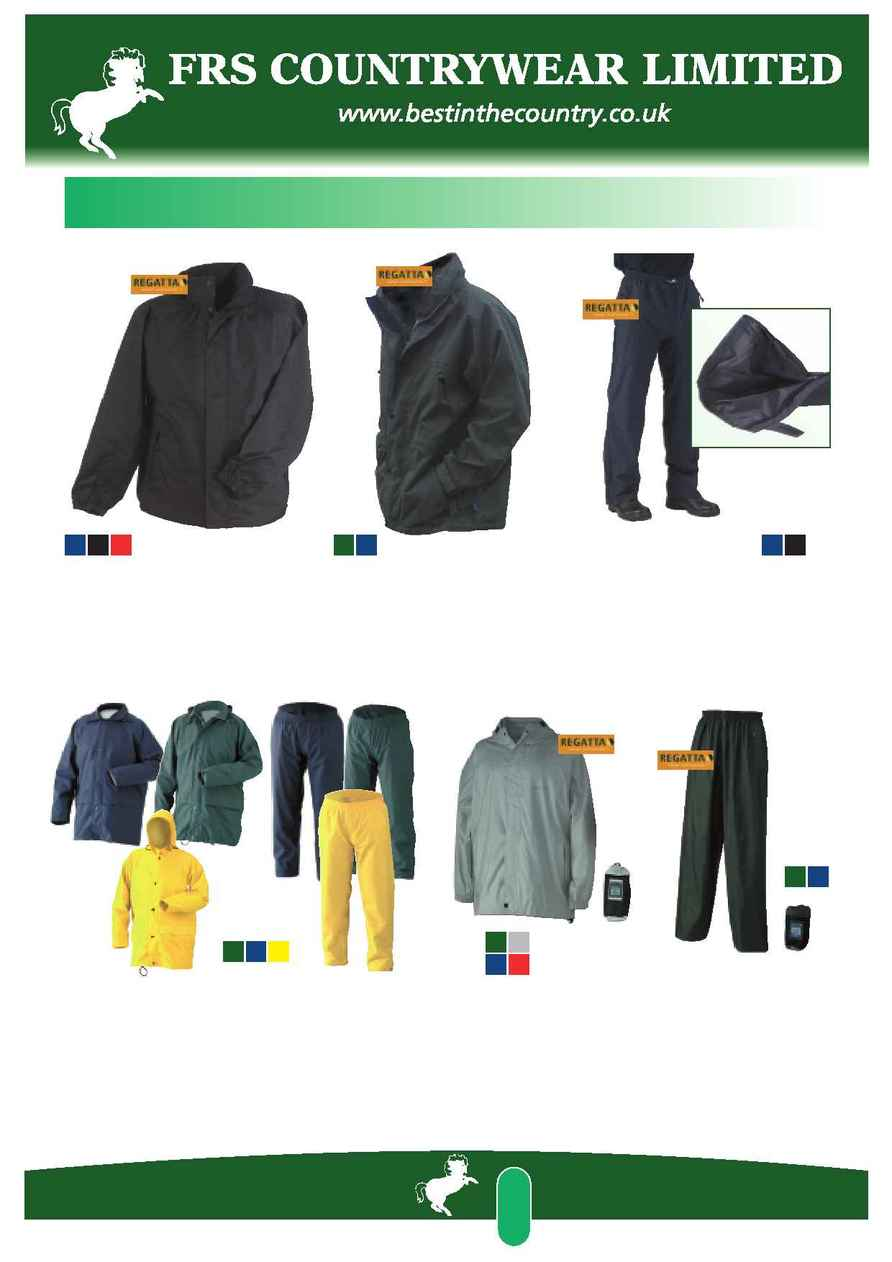 FRS Countrywear - FRS workwear brochure