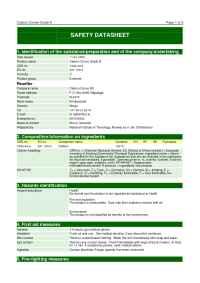 n-Tec - MSDS Carbon Cones Grade A ( GB)