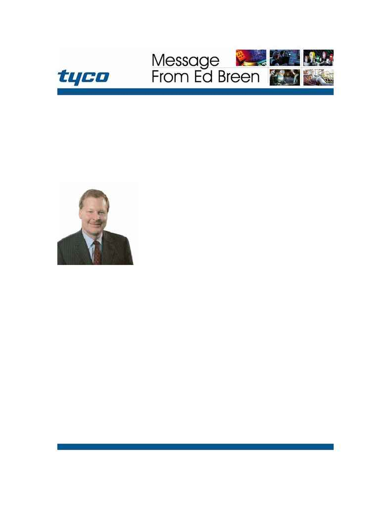Tyco Fire & Security - breen AGM 0304 english