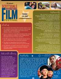 Scottsdale International Film Festival - sponsorship info