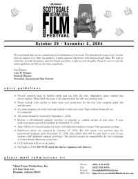 Scottsdale International Film Festival - submit