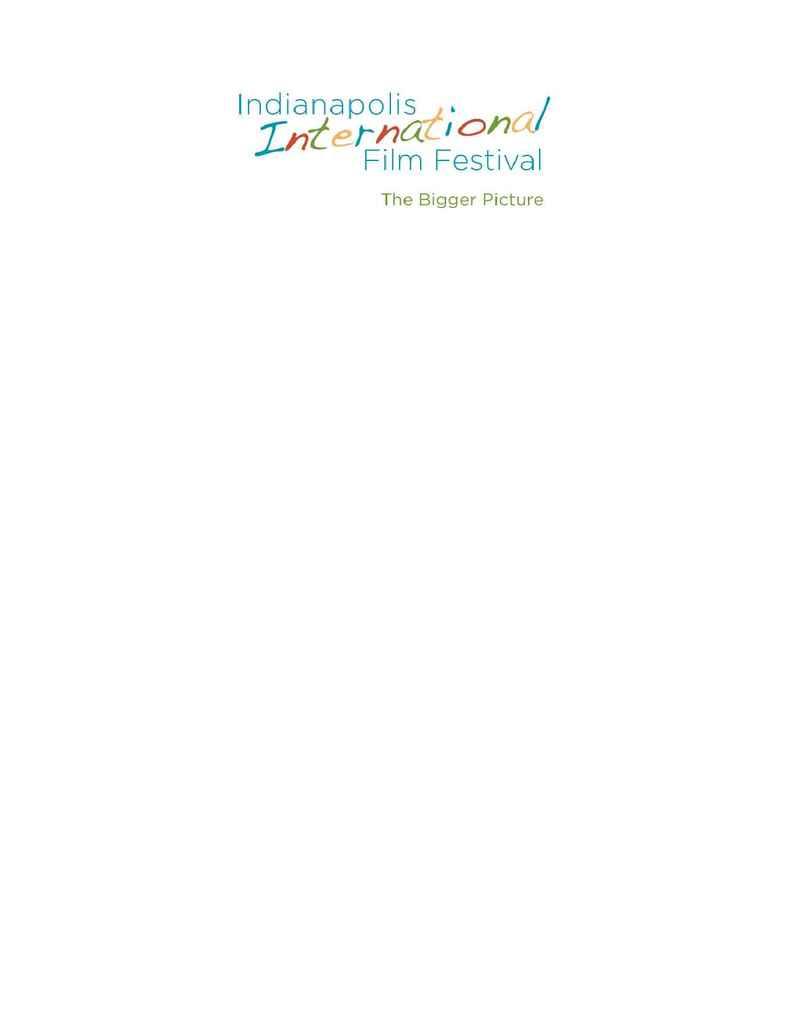 Indianapolis International Film Festival - IIFF Press Conf Notice