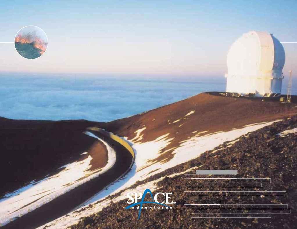Space Adventures - hawaii