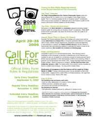 Nashville Independent Film Festival - callforentries