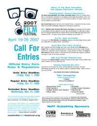 Nashville Independent Film Festival - 2007 Na FF CFE