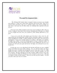 Hairdresser Career Development Training System - Personal Development Quiz