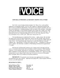 The Village Voice - application