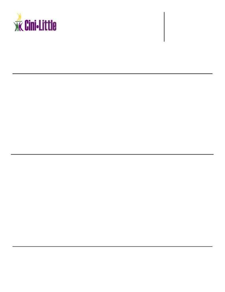 Cini-Little Design - CL. Fact Sheet