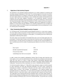 Modern Times Group MTG AB - 2006 Incentive Program