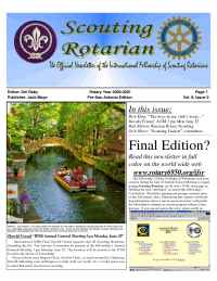 International Fellowship of Scouting Rotarians - IFSR news 2001 03