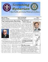 International Fellowship of Scouting Rotarians - IFSR news 2002 04