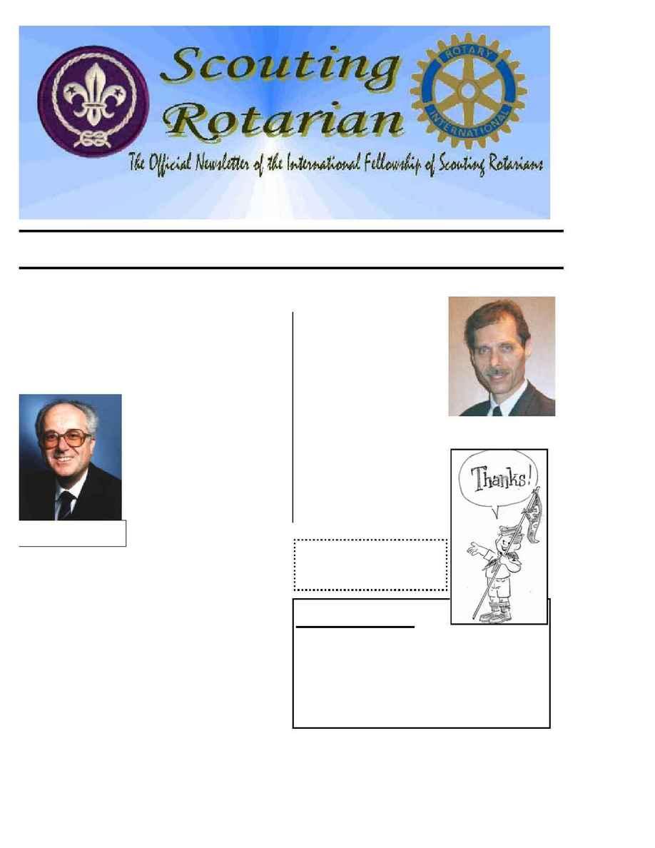 International Fellowship of Scouting Rotarians - IFSR news 2002 04