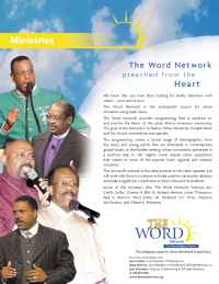 The Word Network Urban Religious Channel - Ministries