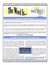 The Word Network Urban Religious Channel - Apr 2001