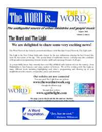 The Word Network Urban Religious Channel - Aug 2001