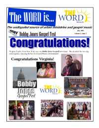 The Word Network Urban Religious Channel - July 2001