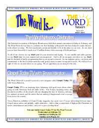 The Word Network Urban Religious Channel - Mar 2001