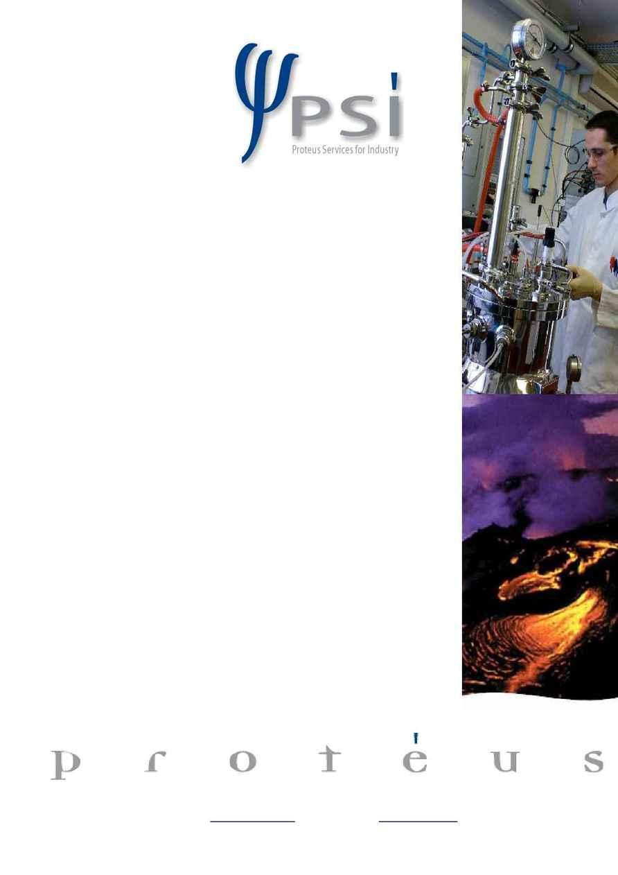 Proteus - Protein Expression PSI