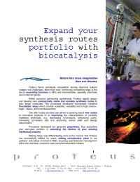 Proteus - Proteus Biocatalysis