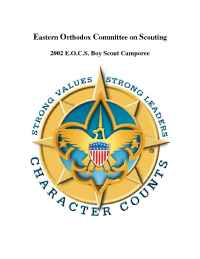 The Eastern Orthodox Committee on Scouting - 2002 EOCSCamporee