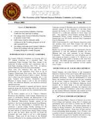 The Eastern Orthodox Committee on Scouting - Newsletter 2004