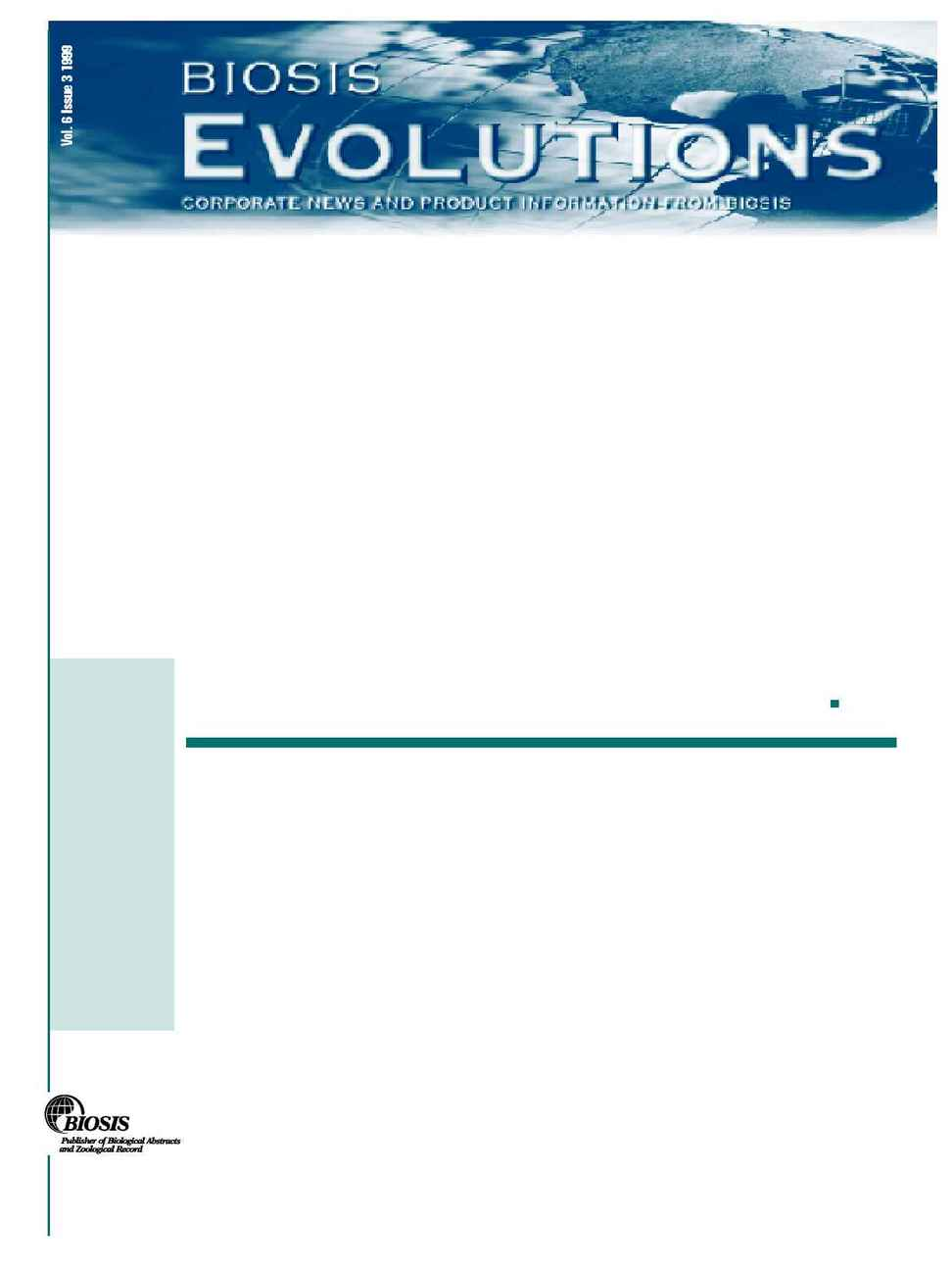 Biosis - evol 6 3