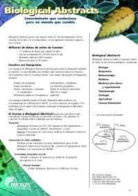 Biosis - BA Spanish