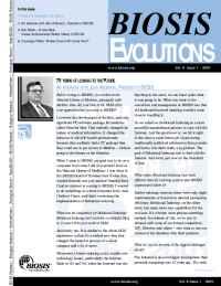 Biosis - BIOSIS EVOLUTIONS 8 1