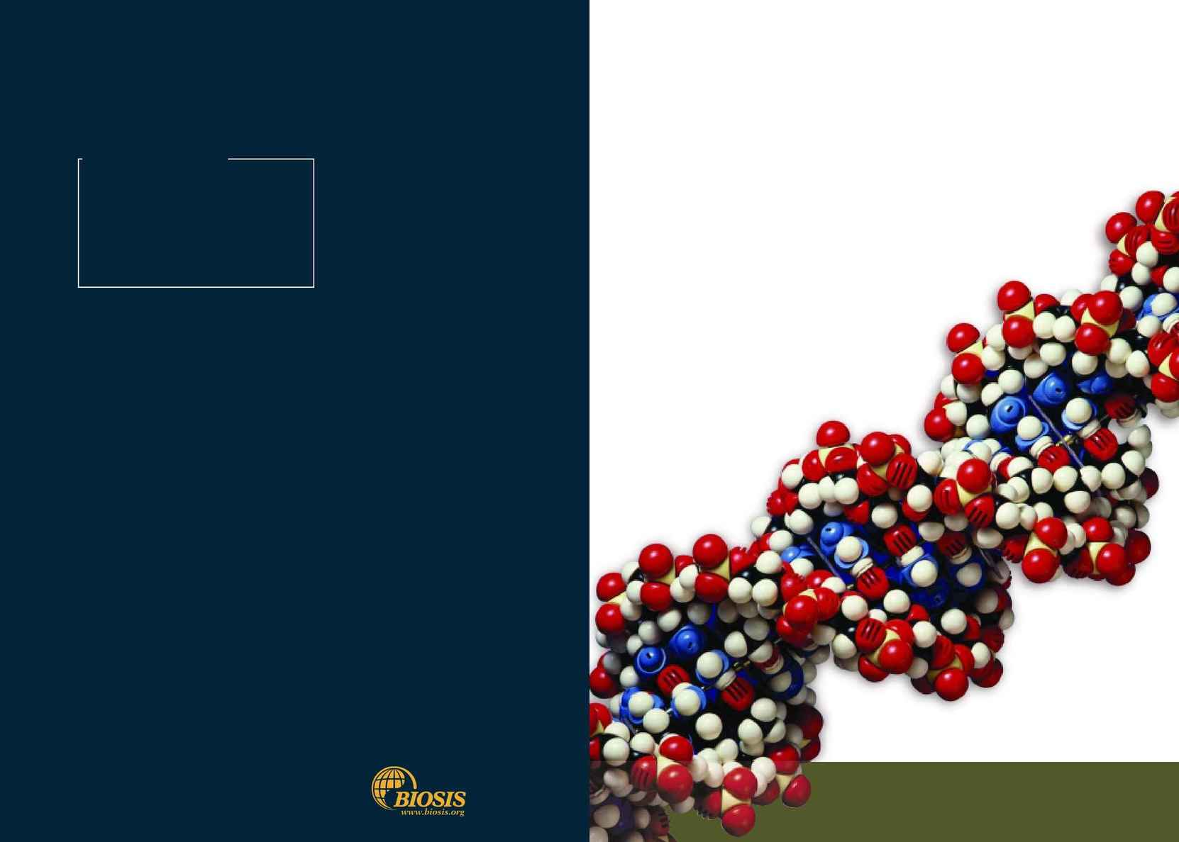 Biosis - bp brochure