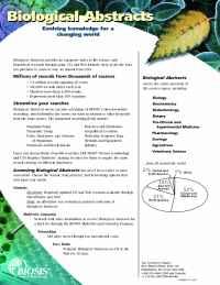 Biosis - BAfact