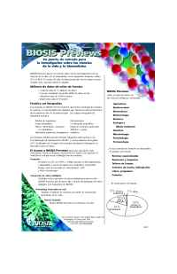 Biosis - BP Spanish